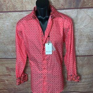 Robert Graham dress shirt brand new men's medium